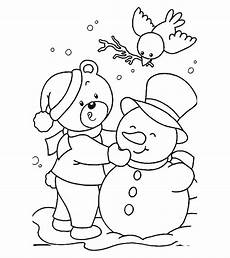 Neujahr Malvorlagen Januarie Season And Weather Coloring Pages Momjunction