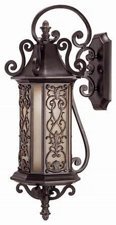 savoy house forsyth outdoor wall light fixture in rustic bronze mediterranean outdoor