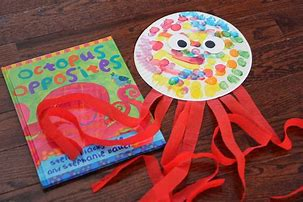 Image result for octopus paper plate craft