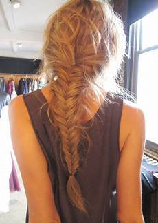 love my hairstyle how to soft fishtail braid