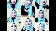 Cara Memakai Jilbab Pashmina Panjang Yang Simple Rekanhijab
