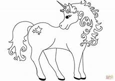 Unicorn Malvorlagen Gratis Lovely Unicorn Coloring Page Free Printable Coloring Pages