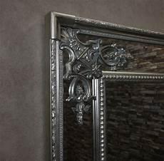 wandspiegel barock silber antik spiegel ramon