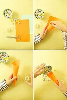 Ostergeschenke Basteln Für Eltern - paper carrots diy