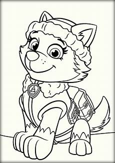 paw patrol everest coloring pages paw patrol coloring