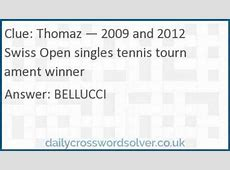 tennis server pro crossword
