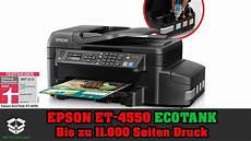 Epson Drucker Test - epson et 4550 ecotank 4in1 wlan drucker