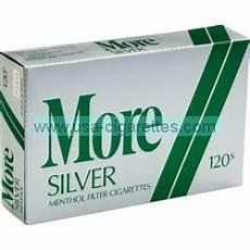 Cigarette Menthol Prix More Menthol Silver 120 S Cigarettes Cheap Cigarettes