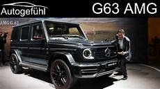g klasse amg mercedes g63 amg review all new g class g wagon 2019 2018