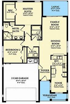 plan 82121ka 2 bedroom cottage with rear lanai cottage