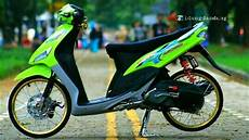 Modifikasi Motor Mio Standar by Modifikasi Motor Mio Sporty Standar