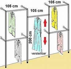 Kleiderstange Begehbarer Kleiderschrank - begehbarer kleiderschrank kleiderst 196 nder kleiderstange