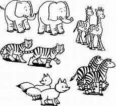 Zootiere Malvorlagen Text Ausmalbilder Zootiere Malvorlagentv