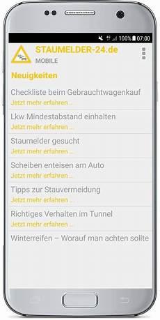Staumelder Mobile Version103 Screenshot 7 Staumelder 24 De