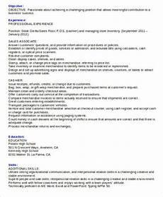 free 8 cashier resume sles in ms word pdf