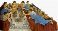 banchetto romano giiero rorato la frutta in cucina