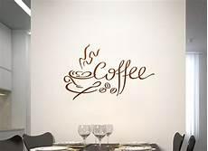 wandtattoo kaffeetasse mit bohnen und schrift coffee w783
