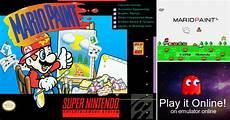 Malvorlagen Mario Emulator Play Mario Paint On Nintendo