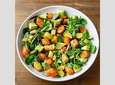 roasted carrot and avocado salad_image