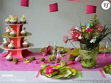 Decoration De Table Theme Printemps