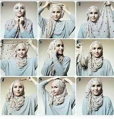 Til Stylish Dengan Tutorial Pashmina Jersey