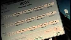 p2020 audi a6 audi a6 3 0 tdi v6 vcds mvbs test after throttle