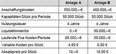 finanzmathematik statisches verfahren und even