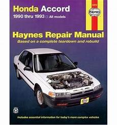 buy car manuals 1988 honda accord free book repair manuals honda accord 1990 1993 automotive repair manual sagin workshop car manuals repair books