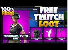 Fortnite   NEW FREE SKIN AND DANCE! TWITCH PRIME PACK