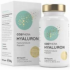 Hyalurons 228 Ure Kapseln Creme Dosierung Wirkung