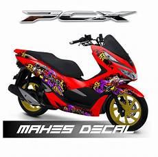 Variasi Pcx by Jual Decal Sticker Honda Pcx 150 Dekal Stiker Variasi
