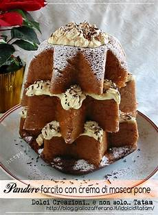 pandoro con crema al mascarpone fatto in casa da benedetta pandoro farcito con crema di mascarpone pasti italiani dolci di natale e torte dolci