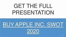 apple swot analysis 2020