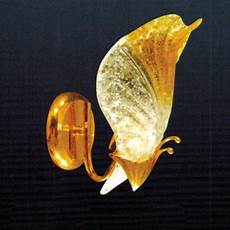 brizzo lighting stores 8 quot leaf melted glass wall sconce chrome gold 1 light