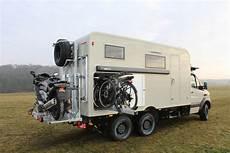 motorradträger wohnmobil 200 kg mb sprinter mit oberaigner 6x6