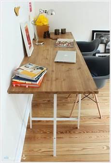 Schreibtisch Selbst Bauen - diy schreibtisch g 252 nstig schnell den schreibtisch