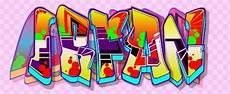Koleksi Gambar Graffiti 3d Nama Huruf Dan Tulisan