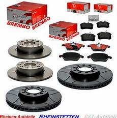 brembo sport trw dtec bremsen kit set 312mm 253mm audi vw