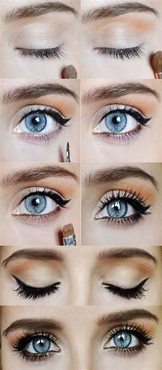 dramatic eye lashes makeup tutorial pictures photos and