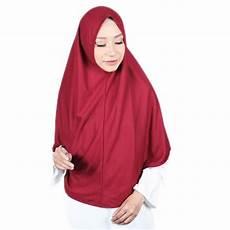 Jilbab Instan Najwa Polos Voal Motif