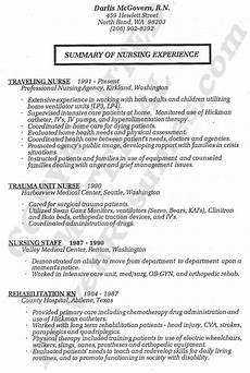nurse resume registered nurse resume service