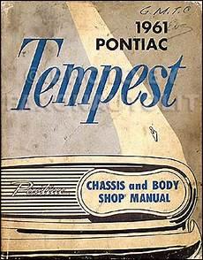 manual repair autos 1961 pontiac tempest spare parts catalogs 1961 pontiac tempest lemans safari repair shop manual original
