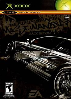 need for speed most wanted black edition for xbox 2005