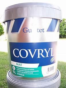 peinture guittet covryl mat acrylique 15l couleur pigment