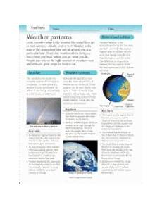 weather patterns worksheets 292 fast facts weather patterns printable grades 3 6 teachervision