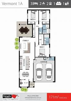 townsville builders house plans townsville builder floor plan 3 bedrooms with study