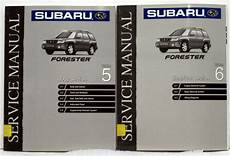 buy car manuals 1998 subaru forester electronic throttle control 1999 oem subaru forester shop service manuals section 5 6 ebay