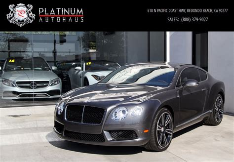 2013 Bentley Continental Gt *** Mulliner Edition *** Stock