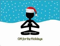 yogadudes yoga holiday cards special promo