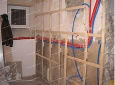 Isoler Les Murs D Une Salle De Bain Avec Du Lino